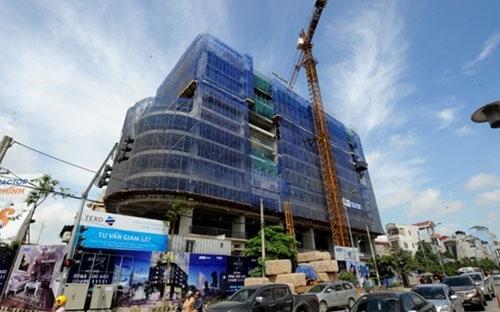 Hiện tại, dự án đang thi công đến tầng 14