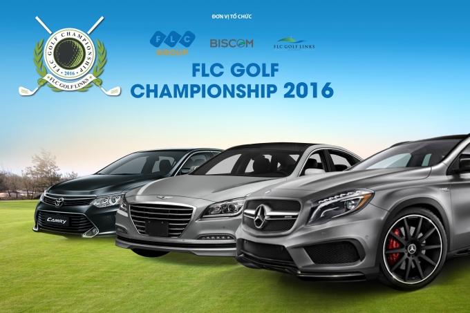 . Những chiếc Mercedes Bez, Toyota Camry, Hyundai Genesis đang chờ đón golfer tại FLC Golf Championship 2016