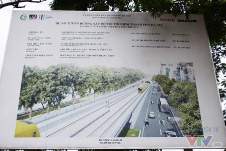 Phần đi ngầm ở ga S9 nằm trên phố Kim Mã, đoạn công viên Thủ Lệ, gần ngã tư Nguyễn Chí Thanh - Kim Mã.