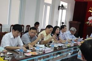 Lãnh đạo nhiều đơn vị thuộc Bộ tham gia đoàn công tác để nắm tình hình từ cơ sở