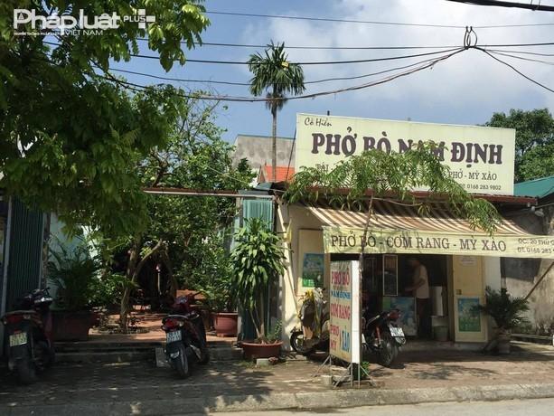 Mặt trước lô đất tạisố 20 phố Phú Gia, phường Phú Thượng, quận Tây Hồ