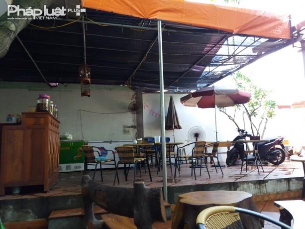 Địa điểm trên được sử dụng để kinh doanh quán Cafe.