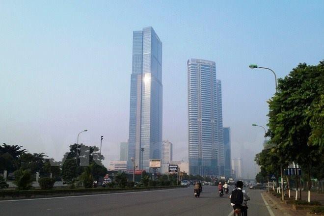 Tòa nhà Keangnam Vina. (Ảnh: PV/Vietnam+)