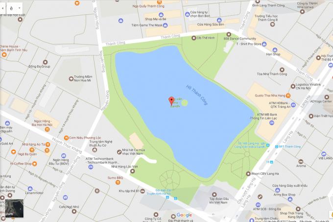 Doanh nghiệp đề xuất Hà Nội lấp hồ Thành Công làm nhà tái định cư.
