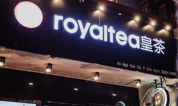 Một cửa hàng Royal Tea tại Việt Nam mua nhượng quyền từ Trung Quốc