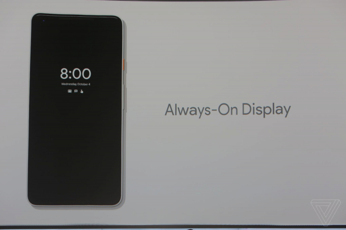 Google Pixel 2sở hữu tính năng bóp viền cảm ứng của HTC U11. Chúng có thể nhận diện lực nhấn của bạn trên các cạnh viền vì thế, bạn có thể bóp nó để thực hiện các hành động như khởi chạy Google Assistant.