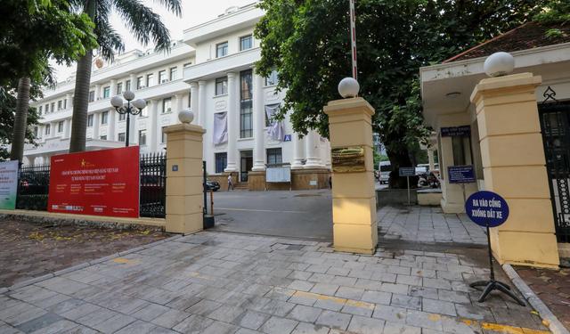 Trụ sở Bộ Công thương trên phố Hai Bà Trưng, Q.Hoàn Kiếm, Hà Nội