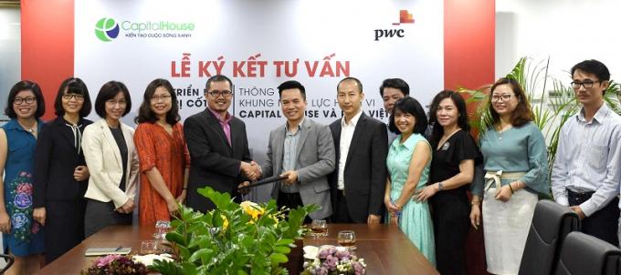 Capital House hợp tác với PwC Việt Nam triển khai giá trị cốt lõi