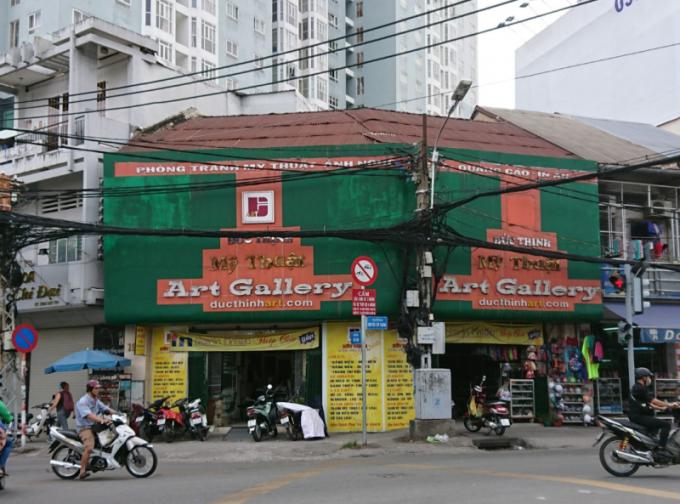 Mặt bằng 194-196 Nguyễn Tất Thành, quận 4, TP HCM do ông Thịnh thuê từ năm 1991.