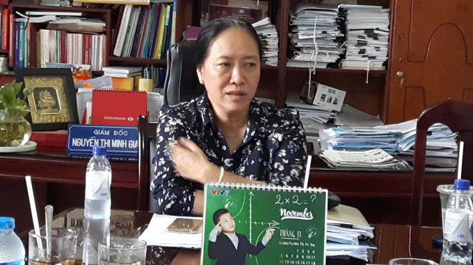 Bà Nguyễn Thị Minh Giang – Giám đốc Sở GD&ĐT Kiên Giang.