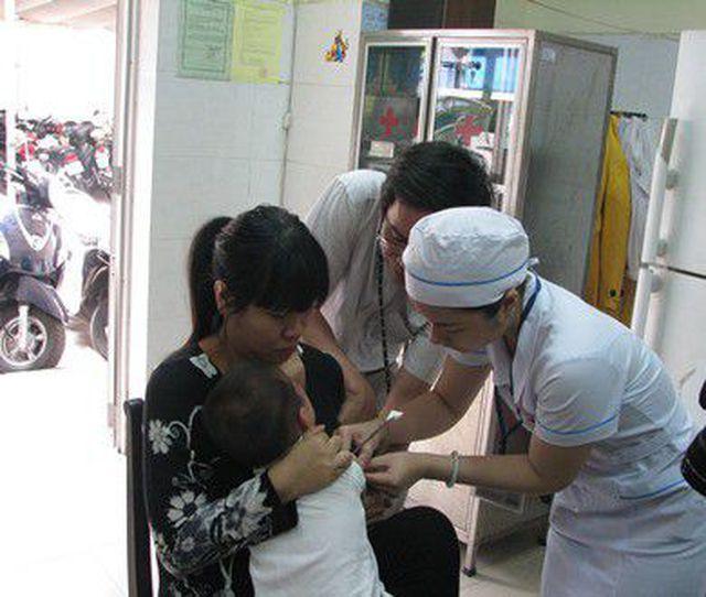 Theo kế hoạch, có 73.000 trẻ sẽ được tiêm bổ sung vắc xin sởi – rubella trong chiến dịch tiêm chủng lần này.