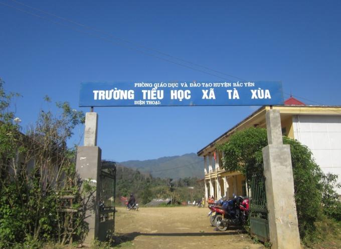Trưởng tiểu học xã Tà Xùa nơi con chữ được gieo mầm.