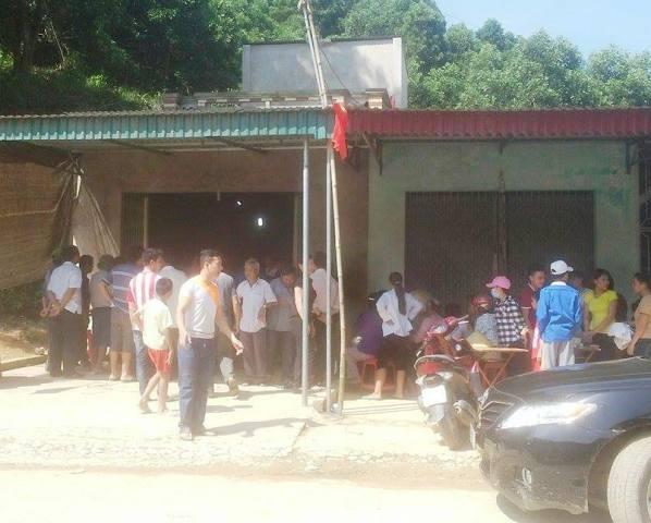 Nơi xảy ra vụ án mạng thương tâm gây rúng động làng quê nghèo.