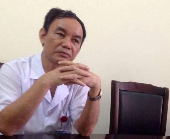Giám đốc bệnh viện Đa khoa huyện Nông Cống Lê Nguyên Khanh thừa nhận sự việc cắt nhầm niệu quản là có thật.(Ảnh: D.Lê)