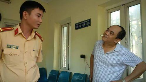 Ông Lê Văn Tuấn tỏ thái độ bất hợp tác trong tình trạng hơi thở đo được có nồng độ cồn vượt quy định 3 lần.