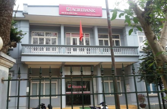 Trụ sở Phòng Giao dịch Ngân hàng Nông nghiệp huyện Mường Lát, nơi ông Tuấn công tác. (Ảnh: TL)