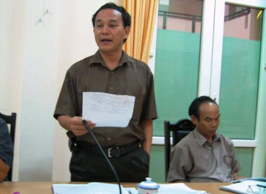 Nguyên GĐ Sở Nông Nghiệp Thanh Hóa Lê Như Tuấn đã dính sai phạm khi bổ nhiệm hàng loạt cán bộ trước khi về hưu