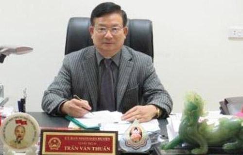 Ông Trần Văn Thuấn, Chủ tịch UBND huyện Nông Cống, được điều động bổ nhiệm giữ chức Phó giám đốc Sở Ngoại vụ tỉnh Thanh Hóa.