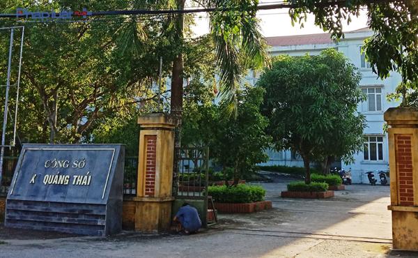 Việc quản lý 26 lô đất tại Quảng Thái đã dấy lên nhiều hoài nghi đất đã bị bán sang tay cho nhiều đối tượng. (Ảnh: A.Thắng)