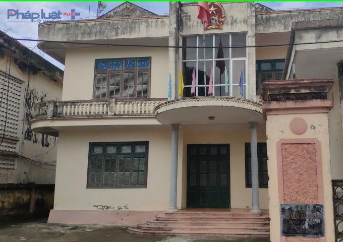 VKSND huyện Nga Sơn, nơi bà Mai Thị Hồng đang công tác. (Ảnh: A.Thắng)