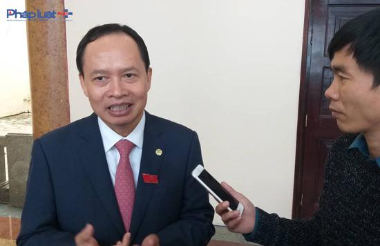 Bí thư tỉnh ủy Trịnh Văn Chiến khẳng định, sẽ thay thế, loại bỏ cán bộ yếu kém vì sự phát triển chung. (Ảnh: A.Thắng)