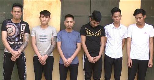 Khởi tố bị can, bắt giam 6 đối tượng cầm đầu tổ chức bữa tiệc ma túy tại quán karaoke.
