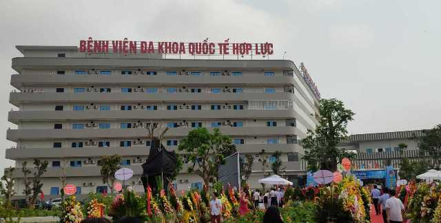 Bệnh viện với mức đầu tư xây dựng gần 700 tỷ đồng, quy mô 500 giường bệnh đạt tiêu chuẩn quốc tế