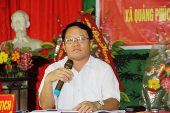 Ông Nguyễn Văn Chính, Bí thư Huyện ủy Quảng Xương, liên quan nhiều nghi vấn sai phạm đất đai chưa được giải quyết, cũng được điều lên tỉnh công tác.