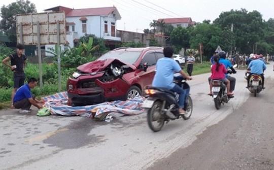 Hiện trường vụ tai nạn nghiêm trọng khiến 2 người phụ nữ tử vong tại chỗ và làm bị thương cháu bé 8 tháng tuổi