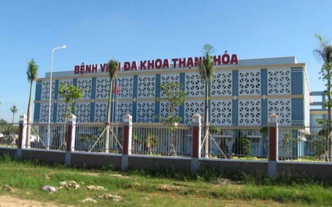 Bệnh viện Đa khoa tỉnh Thanh Hóa đang cách ly, theo dõi nữ bệnh nhân trở về từ Vũ Hán có biểu hiện sốt.