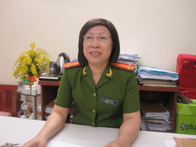 Trung tá Chu Thị Hoa