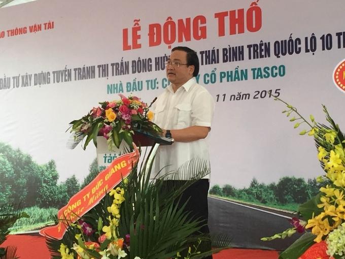 Phó Thủ tướng Hoàng Trung Hải yêu cầu nhà đầu tư và các cơ quan liên quan đảm phải tiến độ, chất lượng công trình.