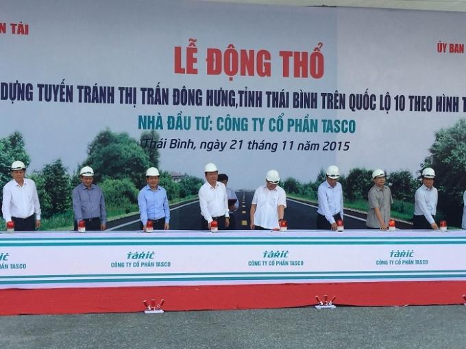 Dự án BOT này là một sáng tạo lớn của tỉnh Thái Bình và Bộ GTVT