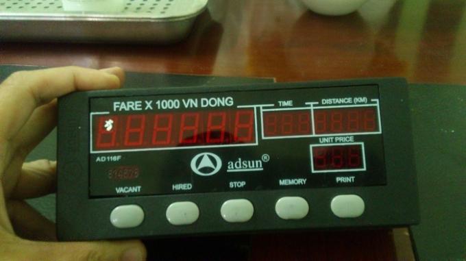 Đồng hồ tính cước của công ty ánh dương, lắp đặt trọn bộ với giá 3 triệu đồng