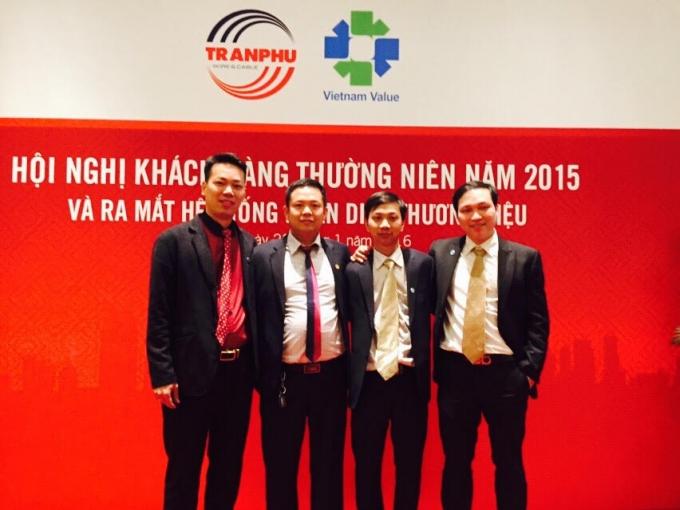 Công ty CP Cơ điện Trần Phú ra mắt bộ nhận diện thương hiệu mới