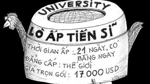 """Danh sách đề tài luận án tiến sĩ """"không thể tin nổi"""" ở Việt Nam"""