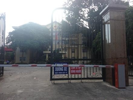 Địa điểm bán hồ sơ thầu nằm trong trụ sở UBND Thị xã Phúc Yên