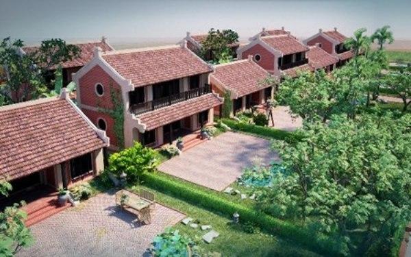 Khu nghỉ dưỡng được Công ty CPĐT Thăng Long Xanh quảng cáo rầm rộ.