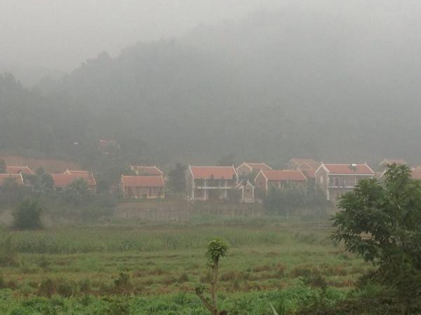 Hàng chục căn biệt thự xây trái phép trên đất nông nghiệp tại Ba Vì