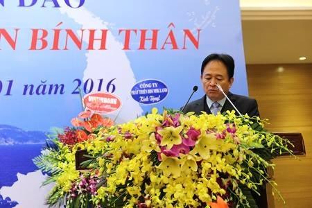 Phó Tổng Biện tập thường trực báo Pháp luật Việt Nam Đặng Ngọc Luyến.