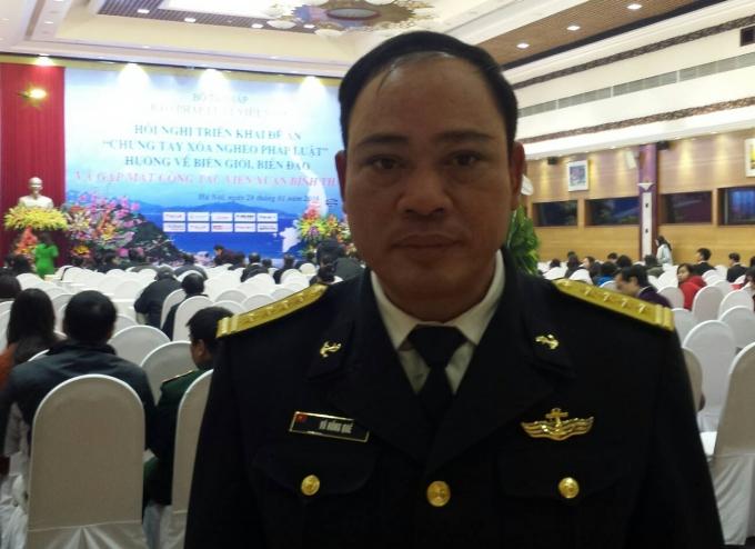 Đại tá Võ Hồng Quế.