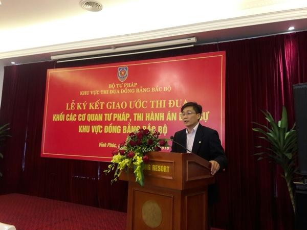 Thứ trưởng Nguyễn Khánh Ngọc phát biểu tại hội nghị.