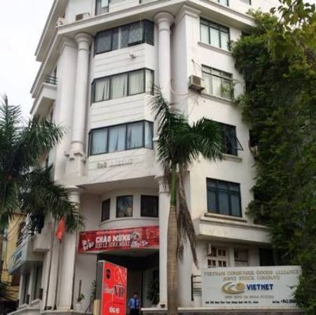 Trụ sở Công ty CP Liên minh tiêu dùng Việt Nam nơi Thuyển làm Phó chủ tịch HĐQT.