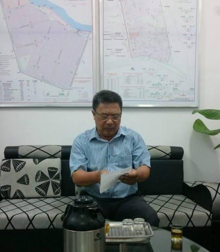 Ông Lê Hồng Hà- Phó Ban QLKCN Quảng Ngãi: