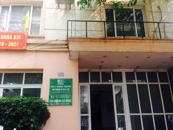 Công ty TNHH MTV môi trường đô thị Hà Nội đang thu phí vệ sinh trái quy định Thành phố Hà Nội.