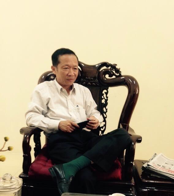 Ông Đỗ Minh Nhân- Chủ tịch UBND xã Cam Thượng: