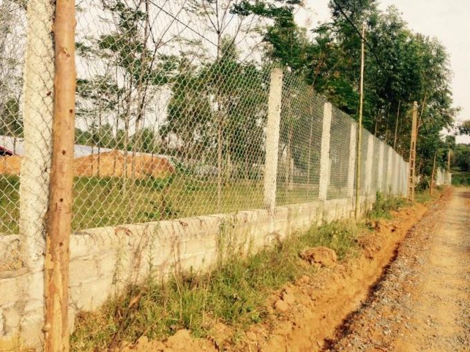 Trang trại được ông Trịnh Duy Tuân xây dựng rât kiên cố.