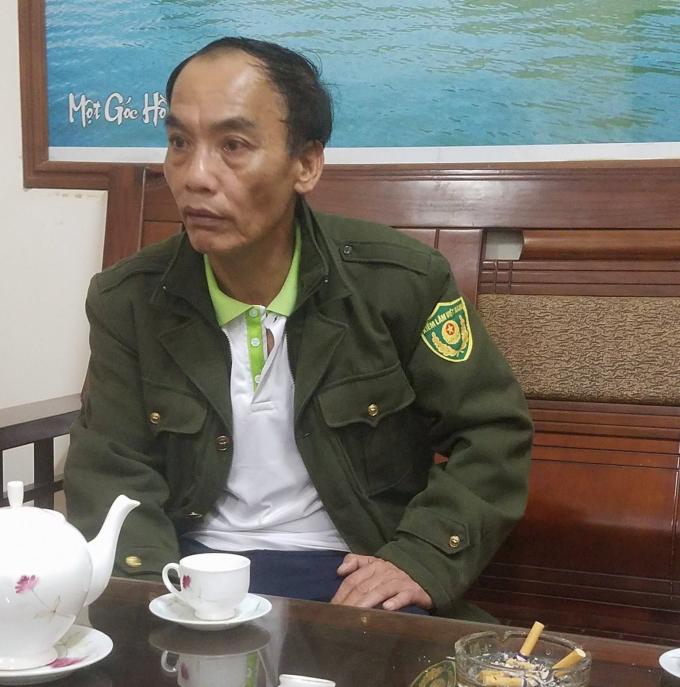 Ông Bùi Văn Quang- Giám đốc Vườn quốc gia Ba Bể: