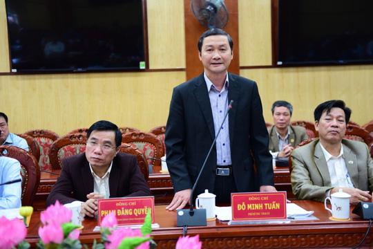 Phó Bí thư Tỉnh uỷ Thanh Hoá Đỗ Minh Tuấn cho biết ngày 30/3 sẽ có kết luận thanh tra vụ