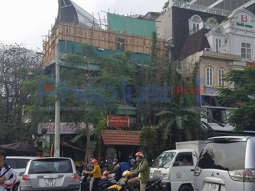 Nhà hàng Lương Sơn Quán dính hàng loạt sai phạm bị các cơ quan chức năng Hà Nội xử lý.